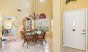 Dining Room - Tiled Floors