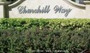 Churchill Way Sign