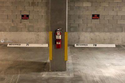 Assigned parking.