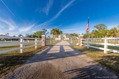 6227 Gun Club Road Gate