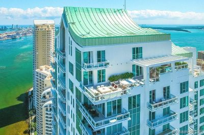 Live on the TOP of Brickell Key's most premier building -- Asia Condominium!