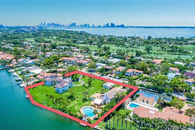 Mega Trophy Estate +/- 2 Acre LOT with 327 Feet of Waterfrontage