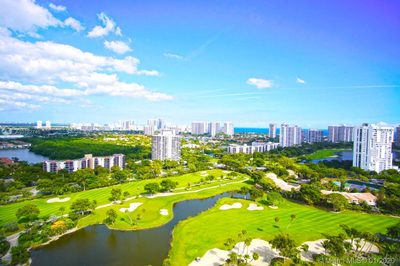 Penthouse Lifestyle! Panoramic View over the Golf Course, Aventura and the Ocean from your balcony.Coronado Condo, PH-31.