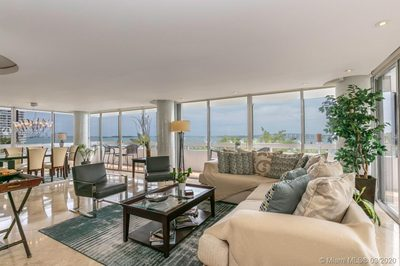 Bayfront unit view from living and dining.