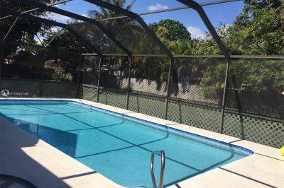 Fabulous pool deck.