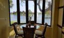Breakfast Nook Overlooking Water