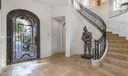 Grand Foyer Entrance- Commercial Grade Elevator To Left of Front Door*Walls Virtually Painted White