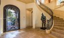 Grand Foyer Entrance- Commercial Grade Elevator To Left of Front Door