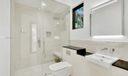 Cabana bathroom.