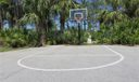 Basketball Hoop at the Clubhouse