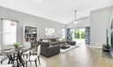 Virtual staging dining/great room