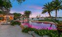 Pool & Loggia at Sunset