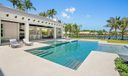 Virtually Staged Pool Area