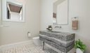 Virtually Staged Powder Room