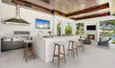 Virtually Staged Summer Kitchen