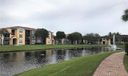 Lake with jogging path