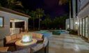 Night Pool Area