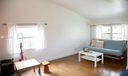 Third Bedroom / Den - hardwood floors, vaulted ceiling