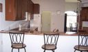 Other. Kitchen breakfast bar with room for six bar stools