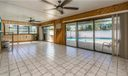 Huge Sunroom off the main living space has a multitude of uses!