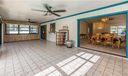 Light and Bright! Enjoy an abundance of natural light. The Florida Room is so spacious you could easily add a dining set and sitting room. Relax and watch the Ballgame!!!