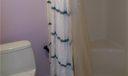 Walk-in shower adjoining the master bedroom