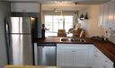 BRAND NEW Shaker style kitchen cabinets, new SS appliances