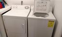 Your own washer & dryer in the laundry room