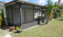 Spacious screened porch