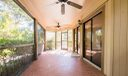 Private screened lanai provides your own tropical oasis