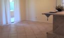 Dining Room with slider to screened porch