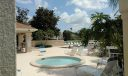 Another view of your second, community pool area and pavilion
