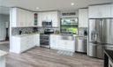Gorgeous Kitchen with Stainless Steel Farmhouse Sink