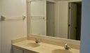 Dual sinks in master bath area