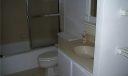 2nd bathroom with sliding glass doors on tub/shower