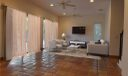 Family room with virtual staging