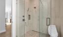 First Floor Cabana Bath Marble Shower