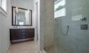 Second Floor Master Bath with Marble Flooring & Tile