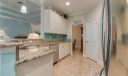 Granite Countertops with subway tile backsplash accent