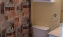 Bathtub/shower combo in upstairs bathroom