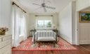 Master bedroom with spectacular views.
