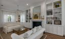 Downstairs living room.