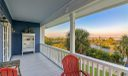 Master bathroom with large clawfoot tub and walk in shower.
