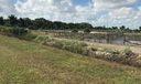 Drainage ditch surrounding both parcels 40 & 10 acre site.