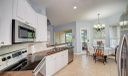 Large, spacious kitchen with Stainless Steal appliances.