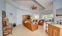 Freshly painted great room, open to patio and to kitchen, this is a must see home!