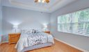 Large Master Suite, lots of closets including a walk in.