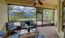 Large screened patio area.