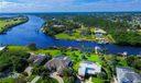 Aerial View. Beautiful waterways!