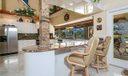 Kitchen. Breakfast Bar,lots of cabinets!